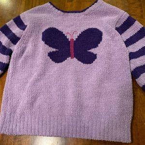 Purple girls sweater - size 5
